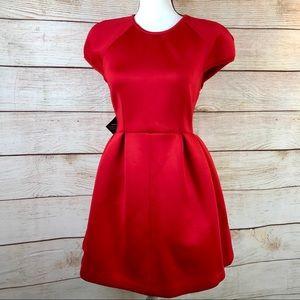 Nasty Gal Red Mini Dress